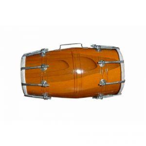 Handmade Wooden Dholak Drum