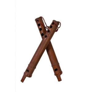 Naad NS-19 Alghoza Indian Wood Wind Musical Instrument
